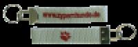 Schlüsselanhänger - grau